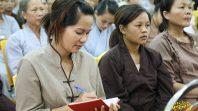 Phật tử Phạm Thị Yến trạch Pháp thường kỳ ngày 3 - 6 - Mậu Tuất