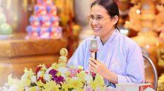 Cô Phạm Thị Yến nói về chủ đề làm sao để bình tĩnh và điềm đạm