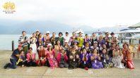 CLB Cúc Vàng tham quan Đài Loan ngày thứ hai tại Hồ Nhật Nguyệt