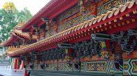 CLB Cúc Vàng tham quan Đài Loan ngày thứ hai tại Miếu Văn Võ