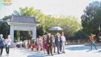 CLB Cúc Vàng tham quan Đài Loan ngày thứ hai tại Trung Đài Thiền Tự