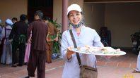 CLB Cúc Vàng trợ duyên cho lễ vu lan tại chùa Phúc Thắng tỉnh Hải Dương
