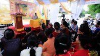 Phật tử Phạm Thị Yến chia sẻ Pháp tại CLB Sao Mai