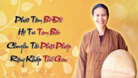 Phật tử Phạm Thị Yến nói về chủa đề thế nào gọi là cãi ngang