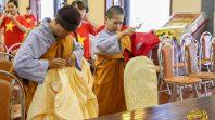 Phật tử CLB Cúc Vàng trợ duyên lễ tri ân anh linh, anh hùng liệt sỹ