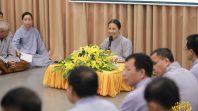 Phật tử Phạm Thị Yến sách tấn Ban Liên Lạc CLB Cúc Vàng tại khu vực Hà Nội