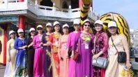 CLB Cúc Vàng - do cô Phạm Thị Yến chủ nhiệm - tham quan đất nước Đài Loan.