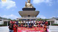 CLB Cúc Vàng thăm quan Phật Quang Sơn tại Đài Loan ngày thứ ba