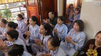 Cô Phạm Thị Yến chia sẻ Pháp tại thành phố Vinh
