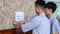 Công tác chuẩn bị đón 6000 khóa sinh về tu tập định kỳ hàng tháng tại chùa Ba Vàng