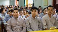Cô Phạm Thị Yến trạch Pháp cho đạo tràng Minh Long chiều ngày 8/10 năm Mậu Tuất