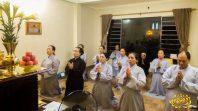 Các Phật tử CLB Cúc Vàng lễ Phật cầu nguyện chính Pháp được tuyên dương
