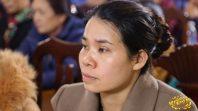 Cô Phạm Thị Yến chủ nhiệm CLB Cúc Vàng - Tập Tu Lục Hòa trạch Pháp tại CLB Bông Sen Vàng