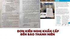 Đơn kiến nghị khẩn cấp của công dân Phạm Thị Yến đến báo Thanh Niên
