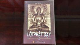 Lời Phật dạy trong tạng kinh Nikaya - Lời Phật Dạy Tập 1