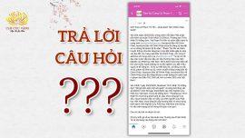Câu hỏi từ nick Quỳnh Su trong nhóm Tâm sự cùng Cô Phạm Thị Yến