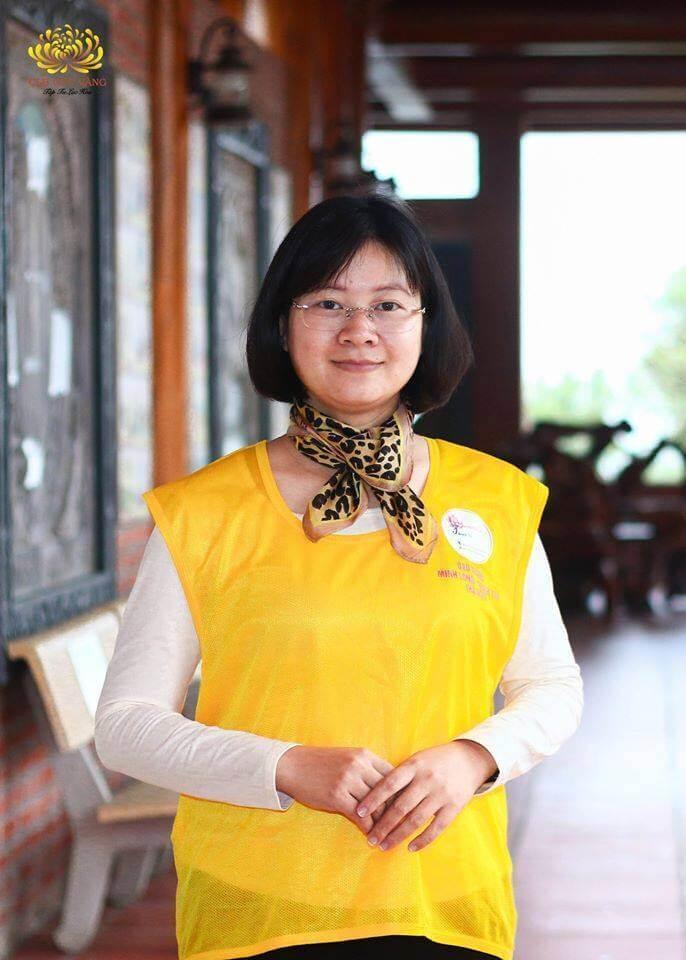 Trưởng đạo tràng: Phật tử Lê Thị Thanh Lương