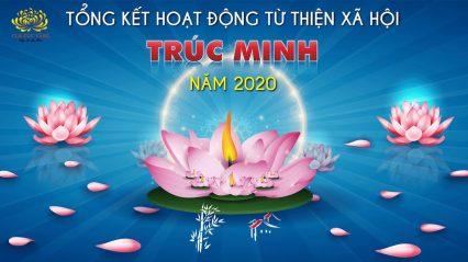 Lễ Tổng kết hoạt động từ thiện xã hội của đạo tràng Trúc Minh năm 2020