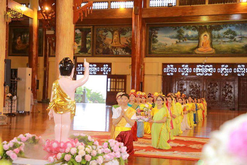 Với tâm cầu Vô thượng Bồ đề chân thật, người Phật tử sẽ không chệch khỏi con đường trí tuệ trong nhiều đời nhiều kiếp về sau